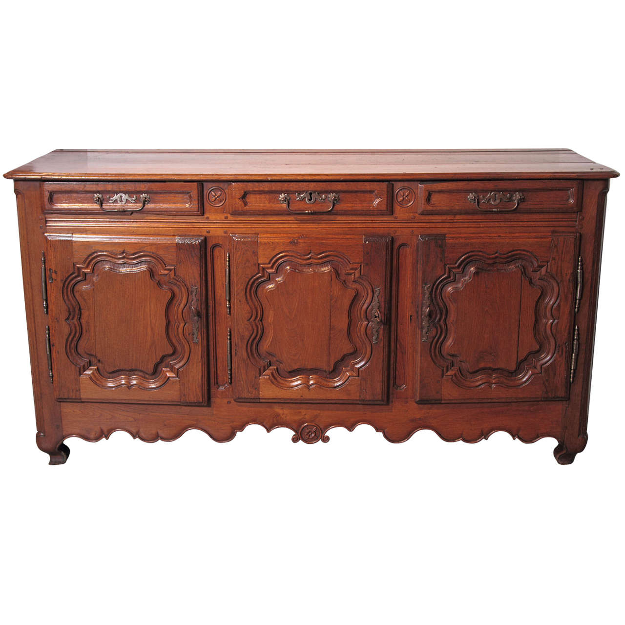 antique french enfilade circa 1850 for sale at 1stdibs. Black Bedroom Furniture Sets. Home Design Ideas