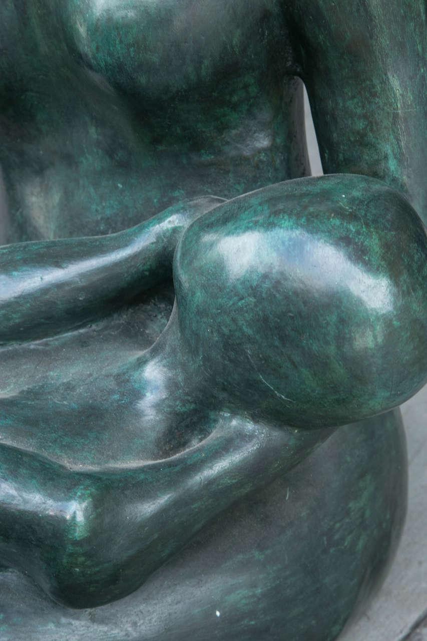 Cast Modern Bronze by Carol Z For Sale