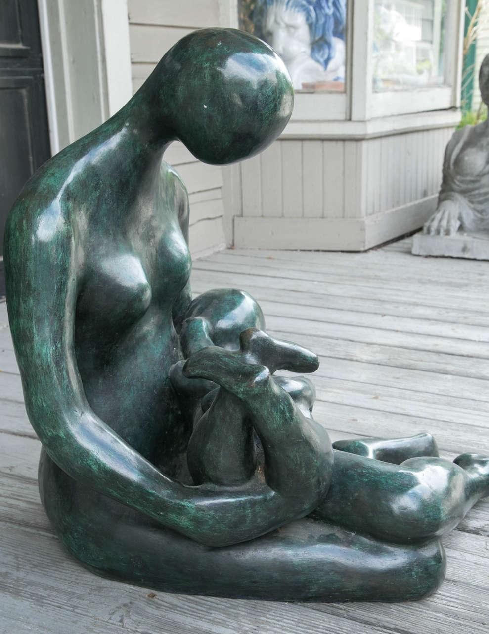 20th Century Modern Bronze by Carol Z For Sale