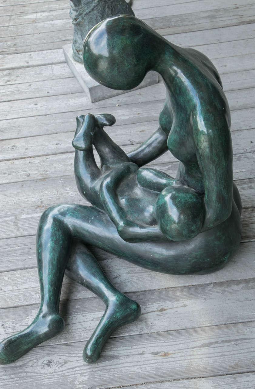 Modern Bronze by Carol Z For Sale 1