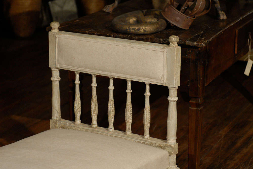 Mid-19th Century Swedish Gustavian Style Daybed 1