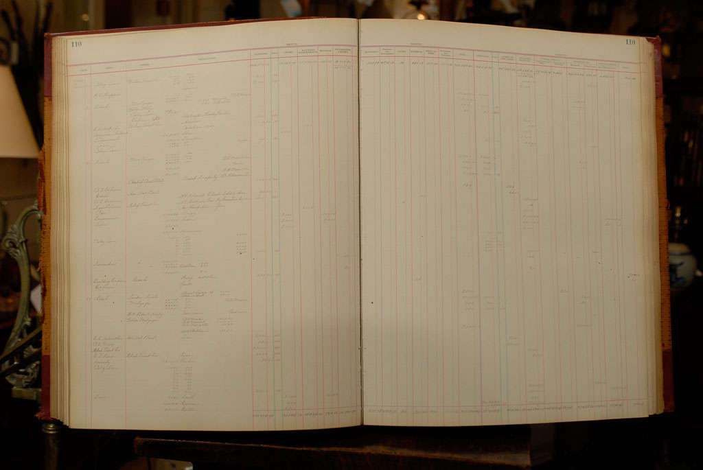 Circa 1902-1912, Early 20th Century Ledgers 6
