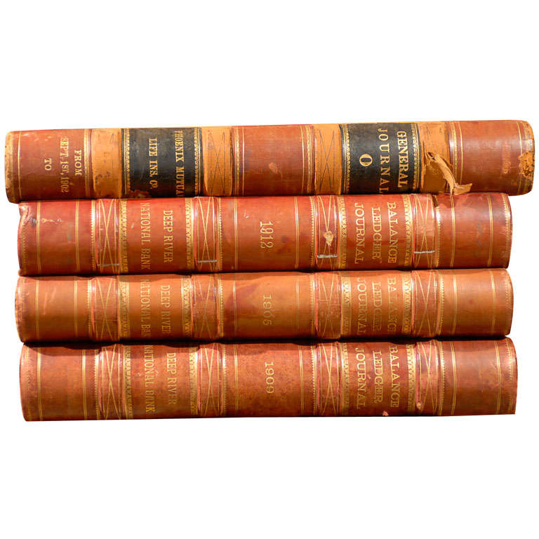 Circa 1902-1912, Early 20th Century Ledgers 1