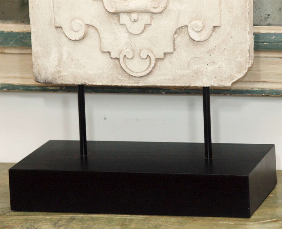 Decorative Plaster Mold At 1stdibs