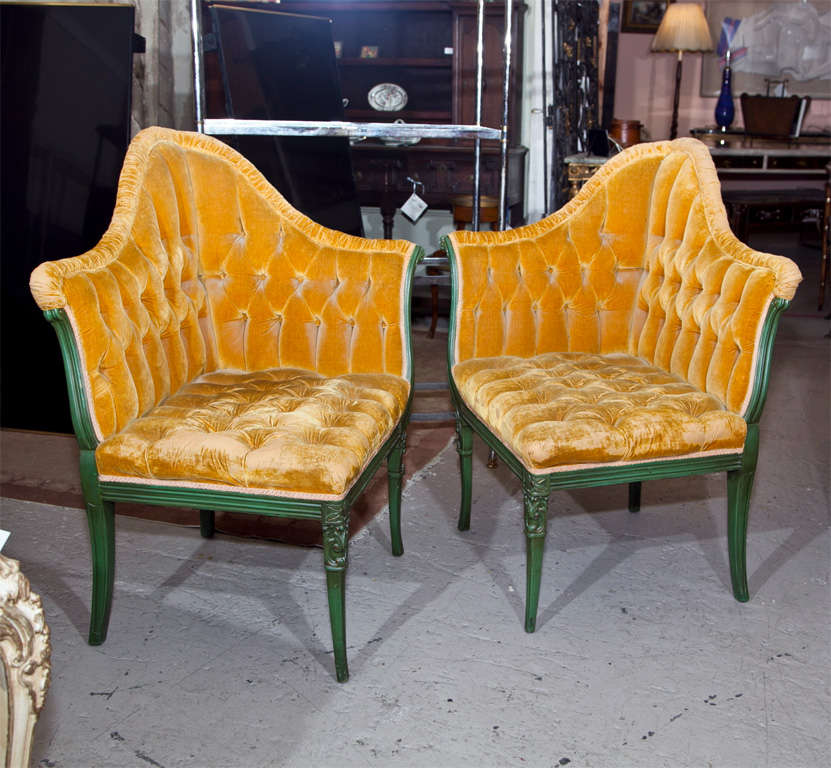 Corner Armchair At 1stdibs