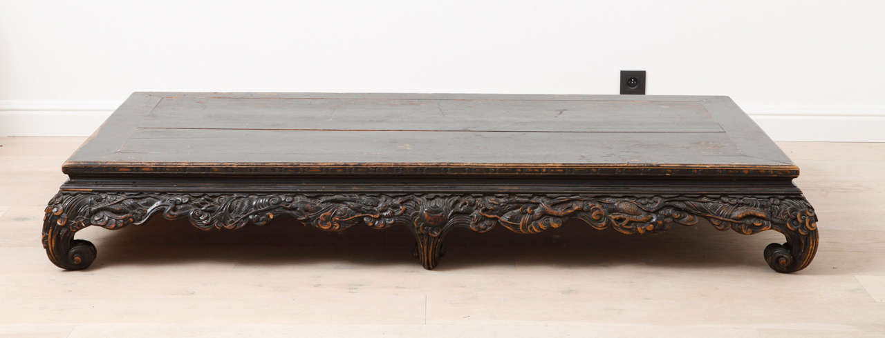 Antique Chinese Opium Bed 2