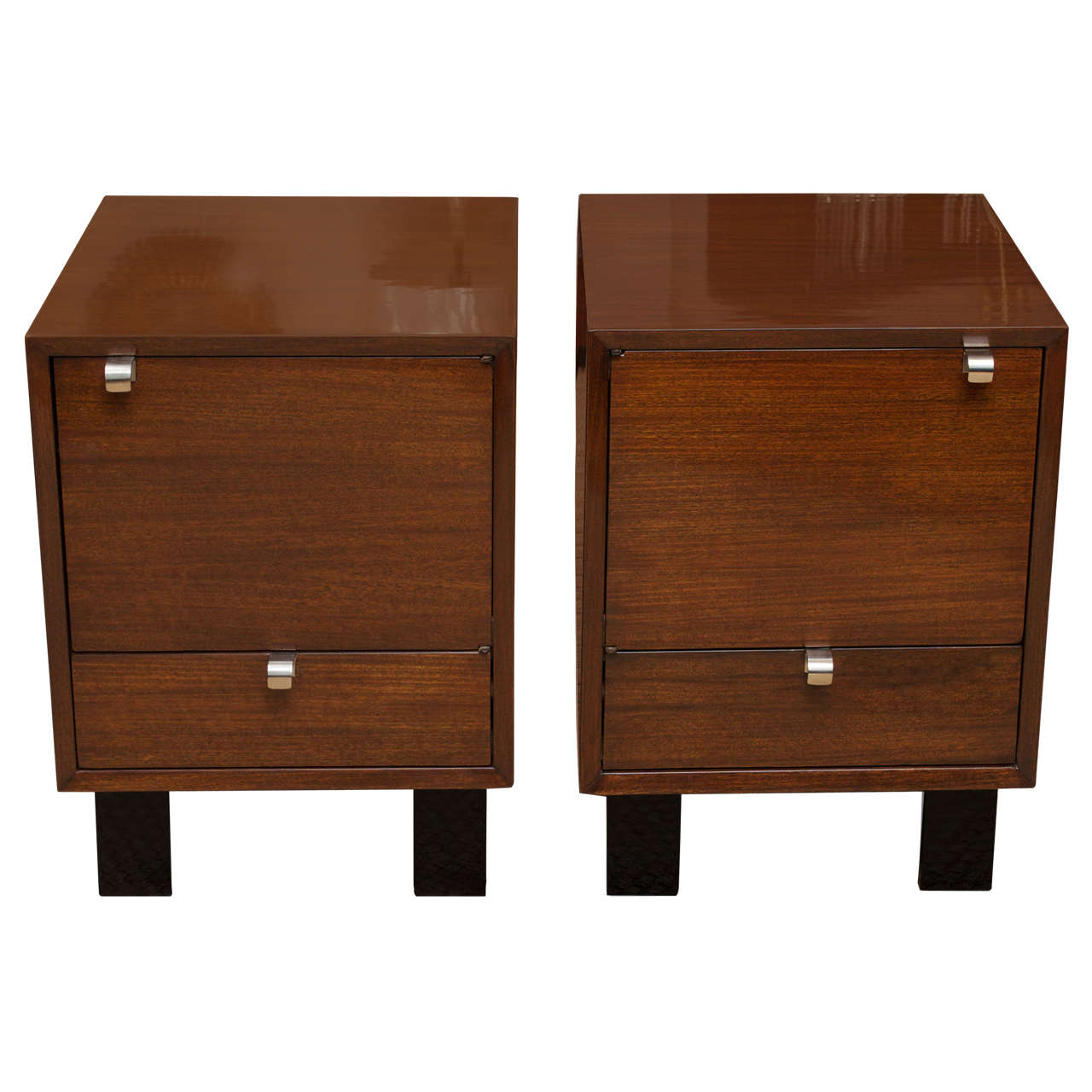 George Nelson Nightstands at 1stdibs