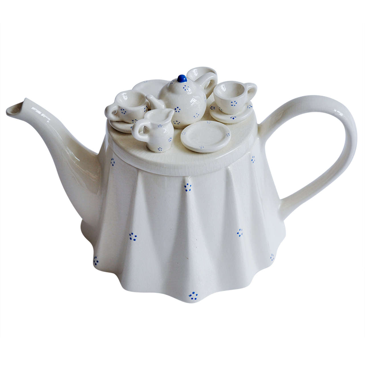1980s Novelty British Teapot Commissioned by The Tea ...