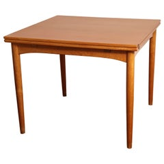 Danish Midcentury Sap Walnut Game Table