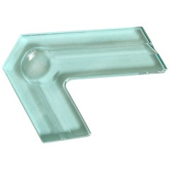 Italian Molded Glass Vide-Poche