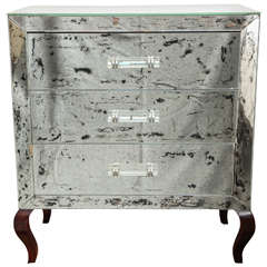 Antique-Mirrored Chest