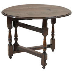 Early 18th Century English Oak Coaching Table
