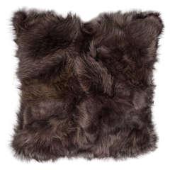 Genuine Brown Fox Pillow