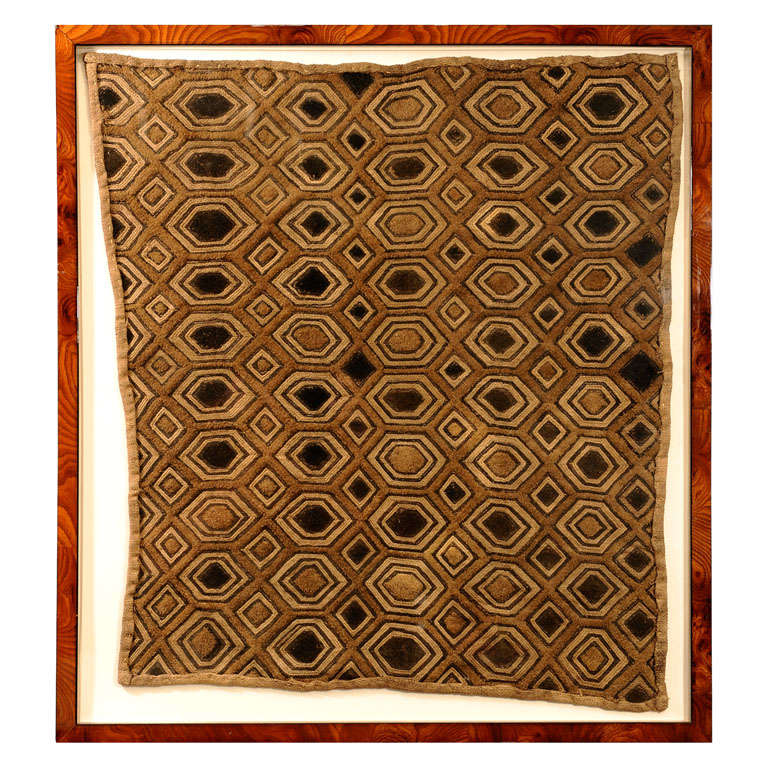 Antique African Mud Cloth Framed At 1stdibs