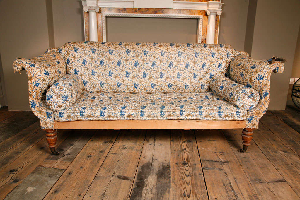 A Regency English Country House Sofa For 2