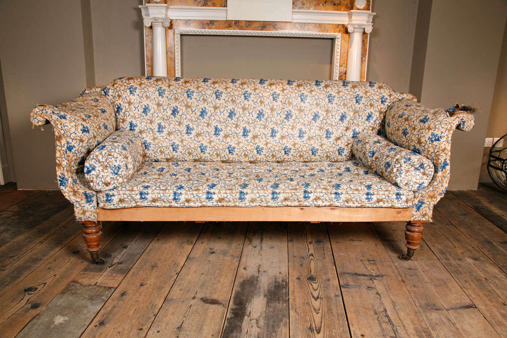 A Regency English Country House Sofa At 1stdibs