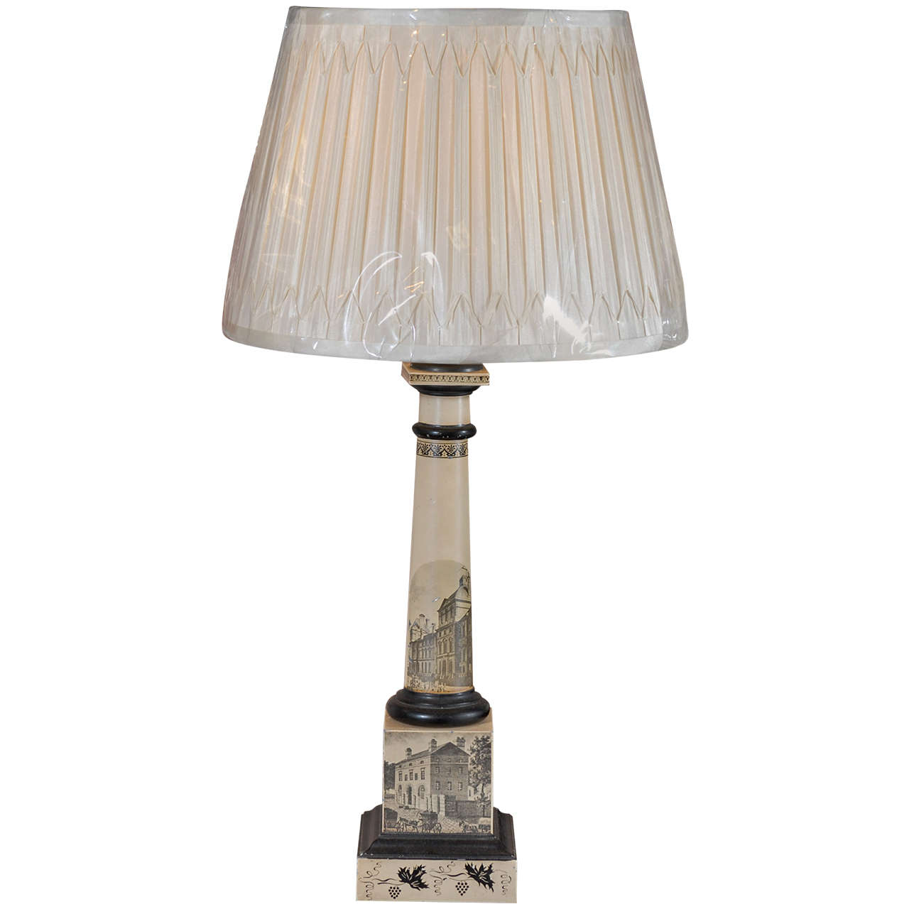 What S Hot On Pinterest Mid Century Table Lamps For Your Loft: Neoclassical Tole Lamp At 1stdibs