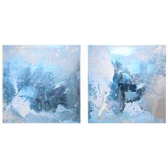 Pair of Paintings by William Kozar