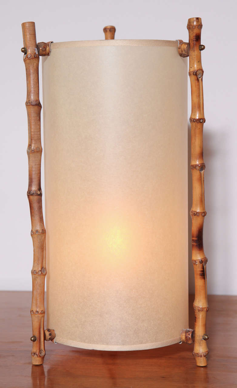 Bamboo Table Lamp 6