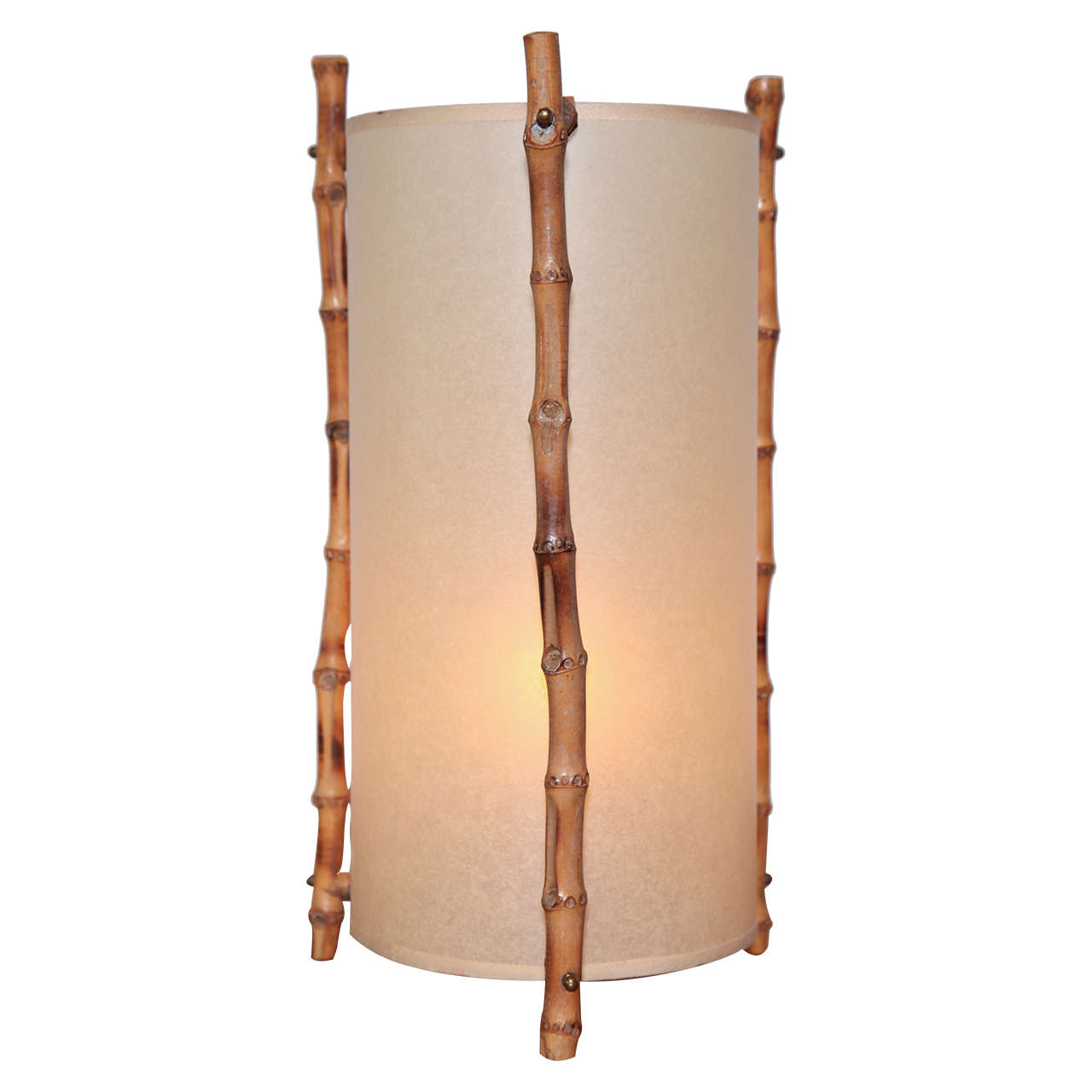 Bamboo Table Lamp 1