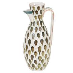 Ceramic Pitcher by Stig Lindberg