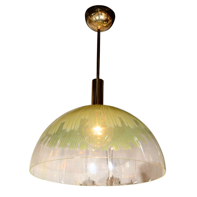 Venini large glass dome pendant light by ludovico diaz de santillana venini large glass dome pendant light by ludovico diaz de santillana for sale aloadofball Gallery