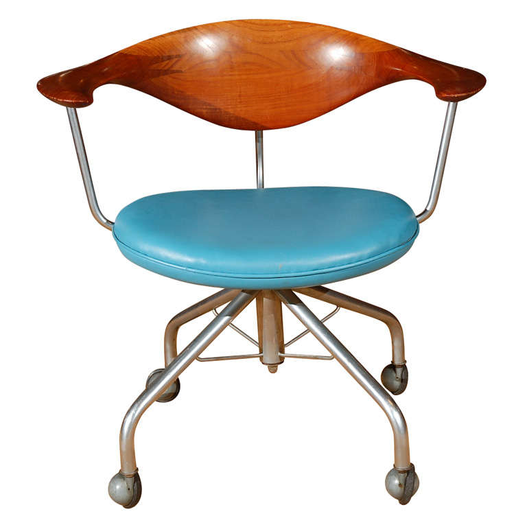 The Swivel Chair By Hans Wegner For Sale At 1stdibs