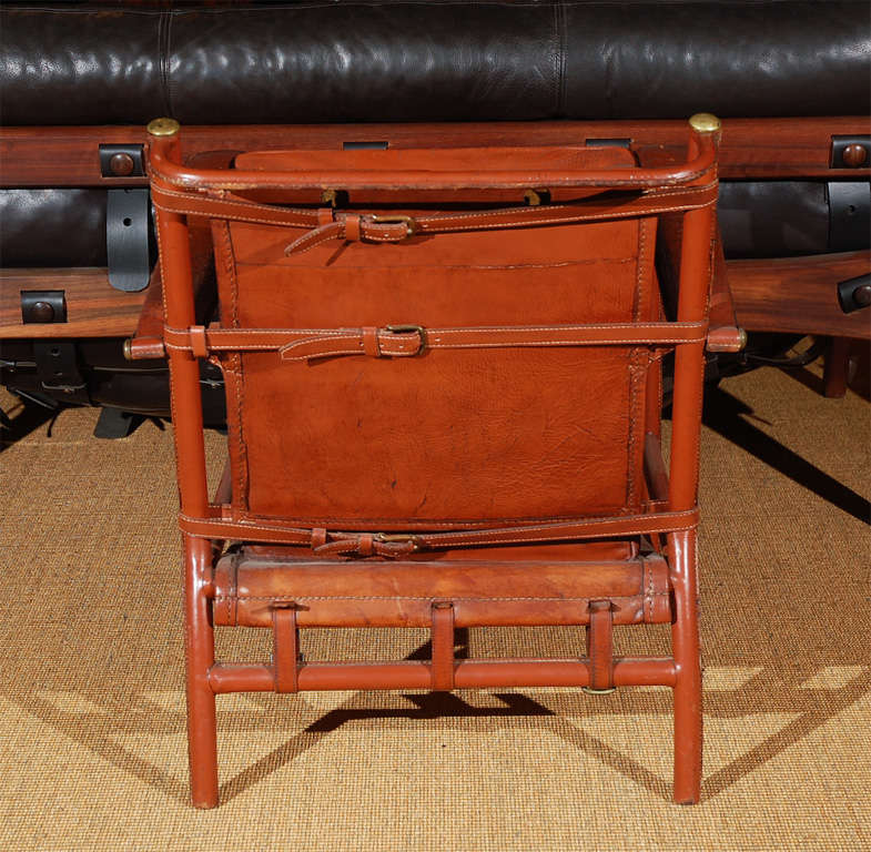 Jacques Adnet Lounge Chair For Sale 2