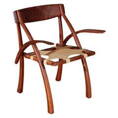 Arthur Espenet Carpenter 'Wishbone' Armchair