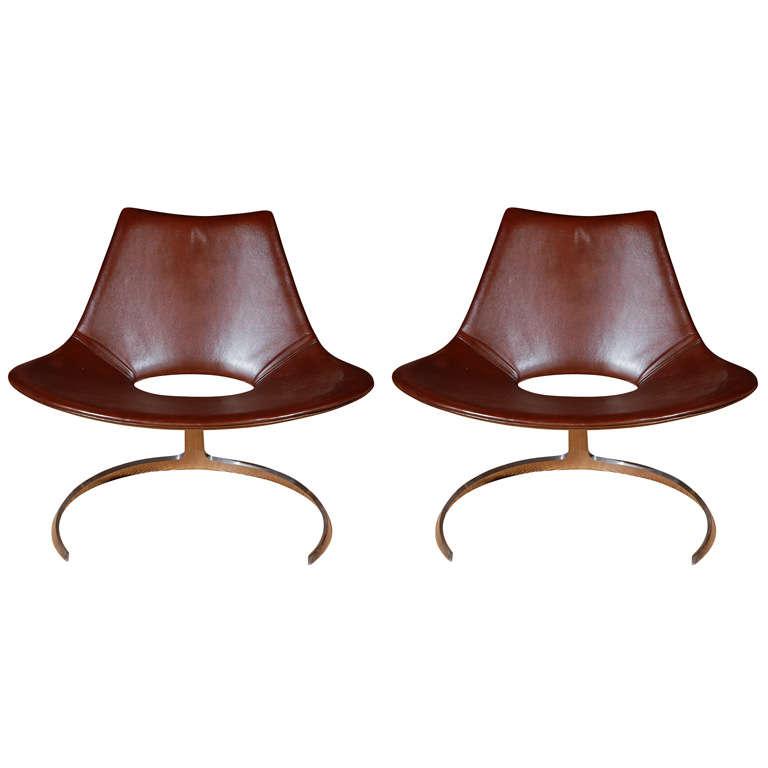 Fabricius & Kastholm 'Scimitar' Chairs