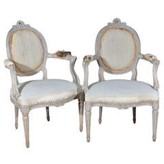 Pair of Swedish Armchairs