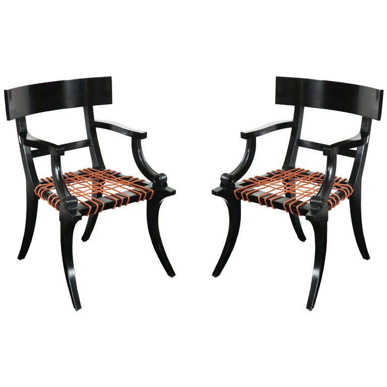 Lee calicchio ltd klismos inspired arm chairs at 1stdibs for Furniture 2 inspire ltd