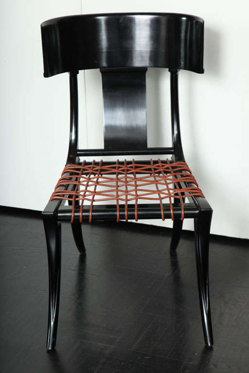 lee calicchio ltd klismo inspired side chair for sale at
