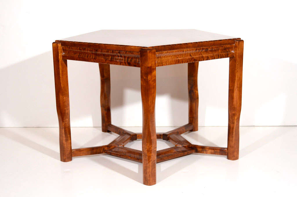 Swedish Lars Israël Wahlman, Coffee Table, Sweden, C. 1910 For Sale