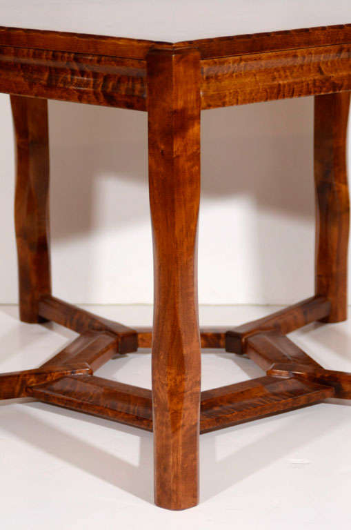 Lars Israël Wahlman, Coffee Table, Sweden, C. 1910 In Good Condition For Sale In New York, NY