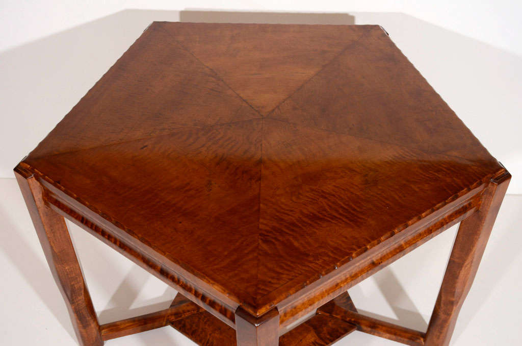 20th Century Lars Israël Wahlman, Coffee Table, Sweden, C. 1910 For Sale