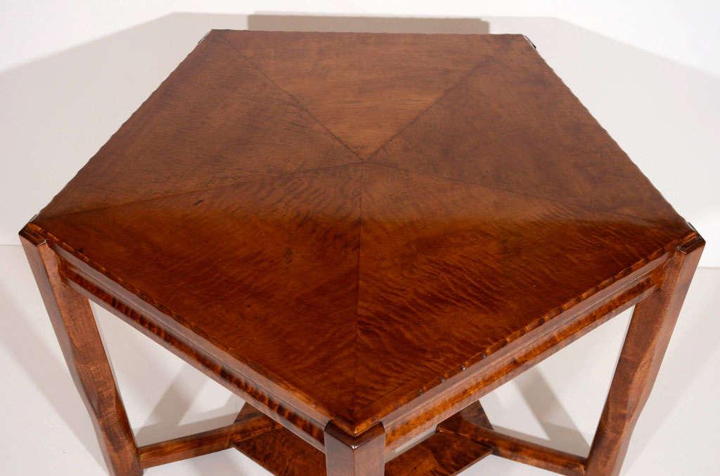 Jugendstil Birch Coffee Table By Lars Isra L Wahlman At 1stdibs