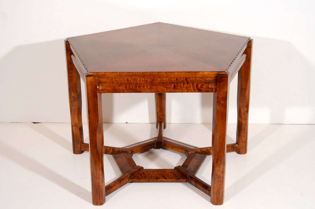 Lars Israël Wahlman, Coffee Table, Sweden, C. 1910 For Sale 1