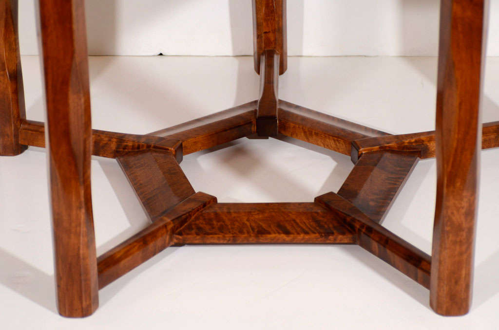 Lars Israël Wahlman, Coffee Table, Sweden, C. 1910 For Sale 2