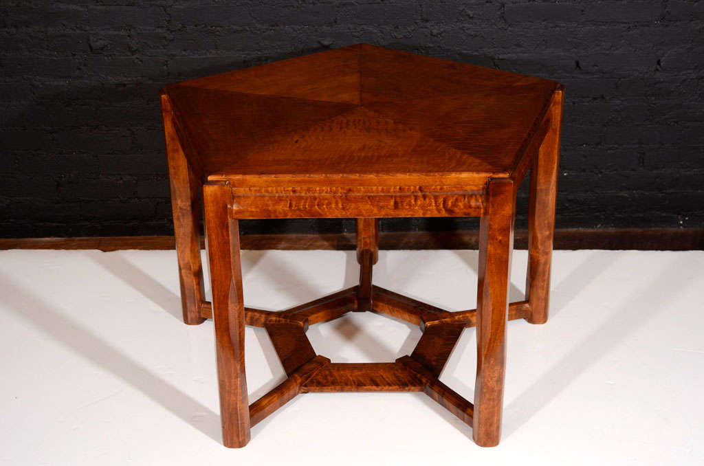 Lars Israël Wahlman, Coffee Table, Sweden, C. 1910 For Sale 3