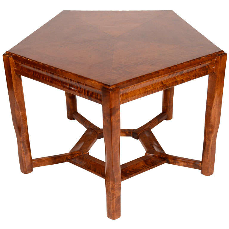 Lars Israël Wahlman, Coffee Table, Sweden, C. 1910 For Sale