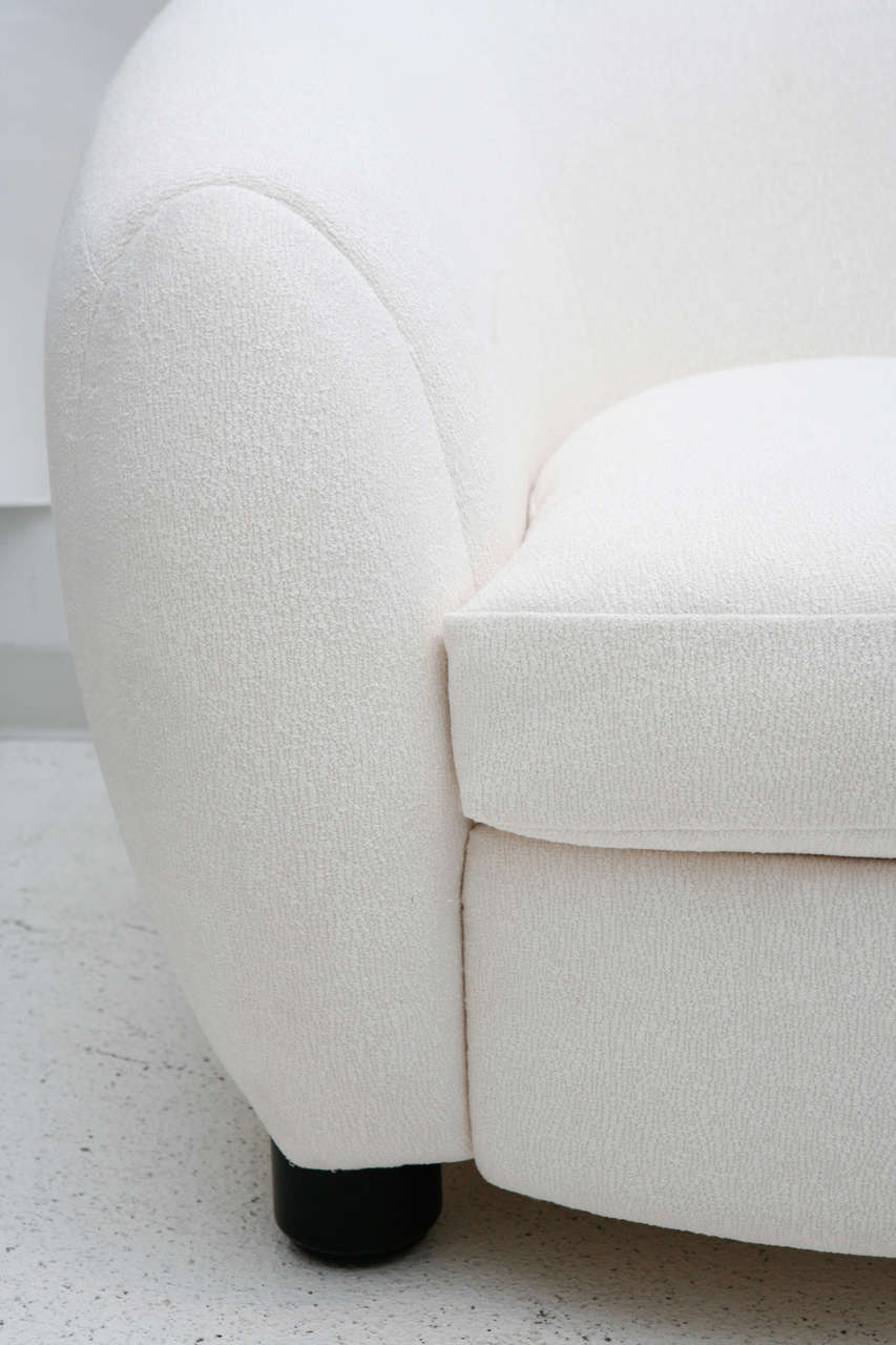 Polar Bear Chair After Jean Royère At 1stdibs