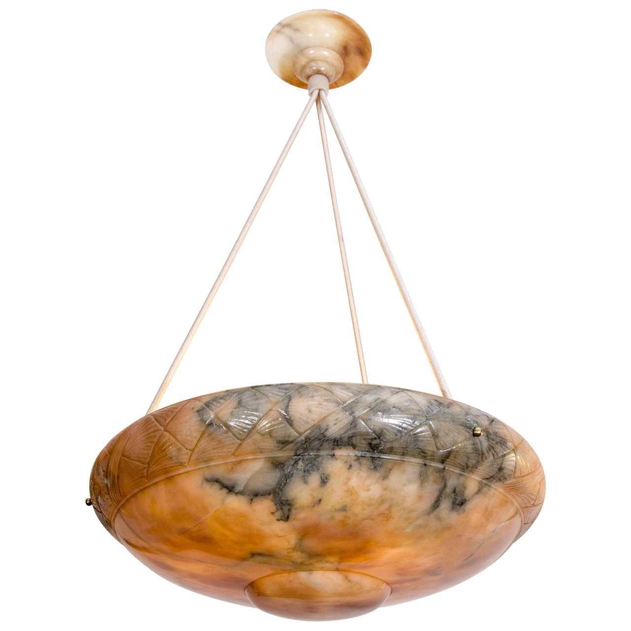Alabaster light fixture at 1stdibs alabaster light fixture for sale arubaitofo Choice Image