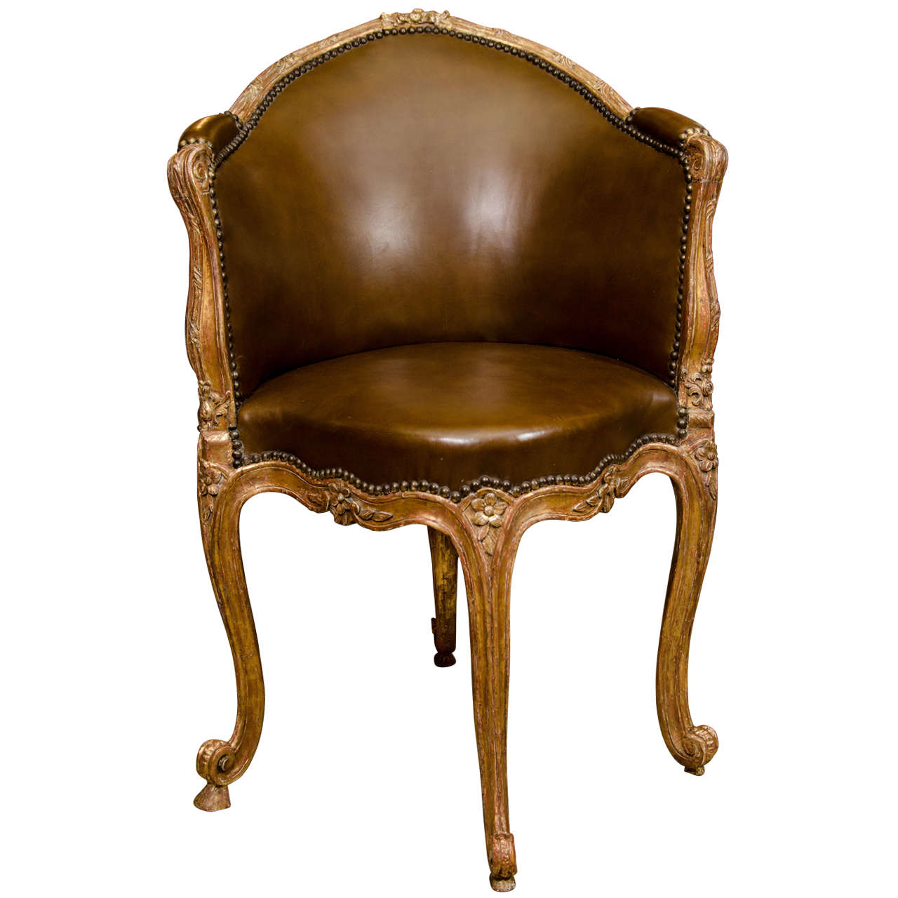 A fine louis xv fauteuil de bureau at 1stdibs for Bureau louis xv