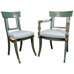 Set of 12 Empire Dining Chairs