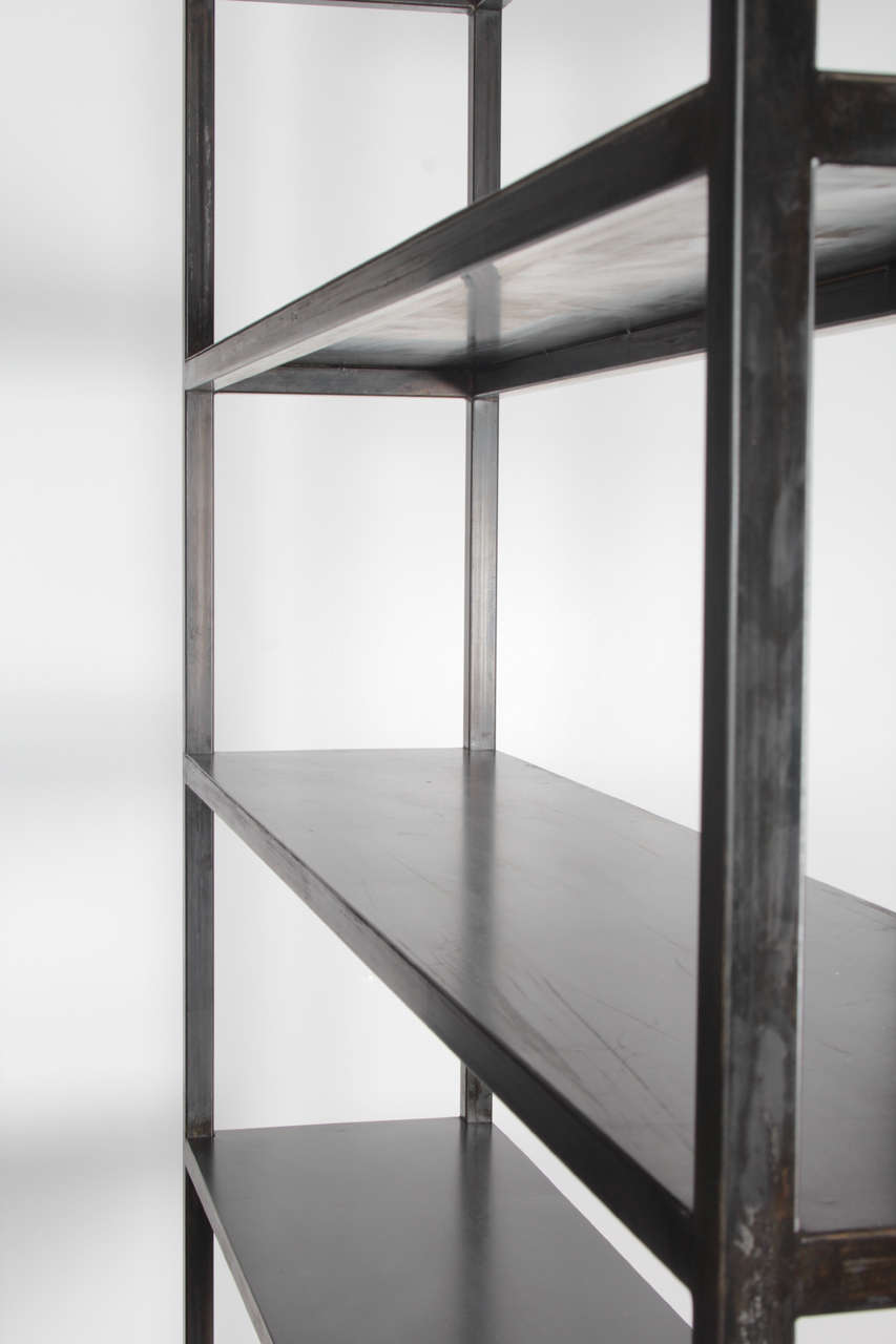 Custom Steel Bookcase For Sale At 1stdibs