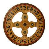 Original H.C Evans Carnival Game Wheel