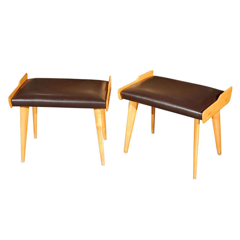 Pair of Italian Mid Century Benches by Carlo di Carli