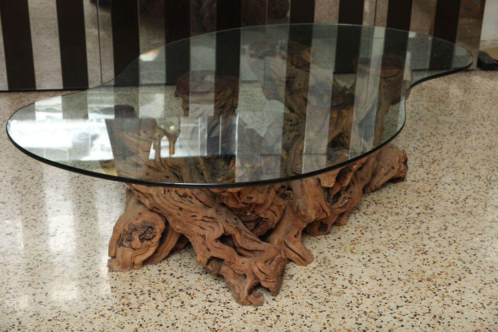 Vintage Cypress Coffee Table