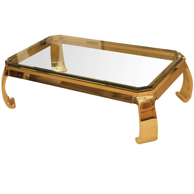Elegant Asian Inspired Coffee Table At 1stdibs